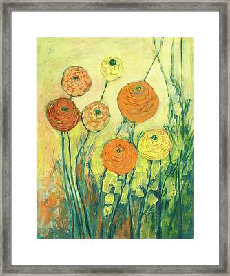 Sunrise In Bloom Framed Print by Jennifer Lommers