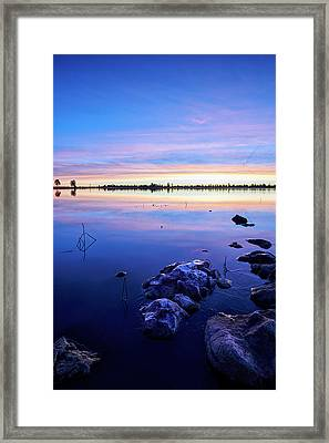Sunrise In Flagstaff Framed Print