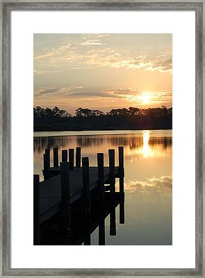 Sunrise In Grayton Beach II Framed Print