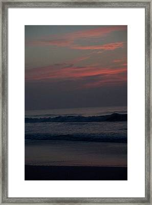 Sunrise In North Carolina Framed Print