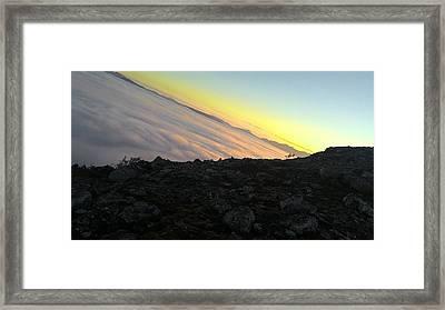 sunrise in Norway Framed Print by Jegor Sushko