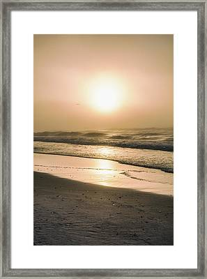 Framed Print featuring the photograph Sunrise In Orange Beach  by John McGraw