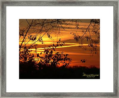 Sunrise In Tennessee Framed Print by EricaMaxine  Price