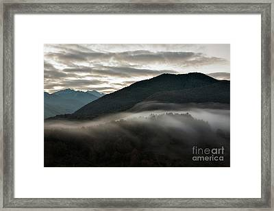 Sunrise In The Abruzzo National Park Framed Print