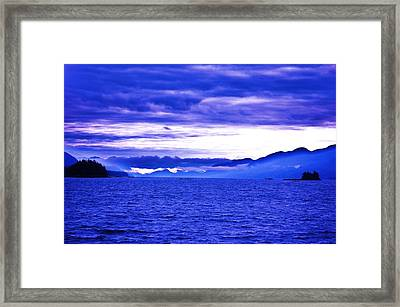 Sunrise In The San Juans Framed Print