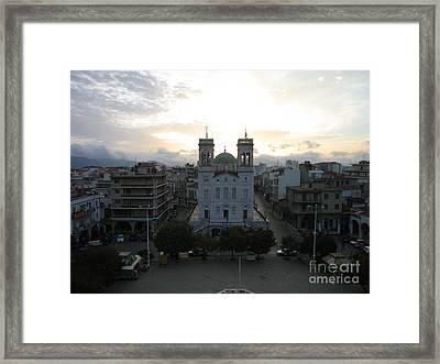 Sunrise In Tripoli, Greece Framed Print by Clay Cofer