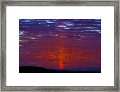 Sunrise Framed Print by John Adams