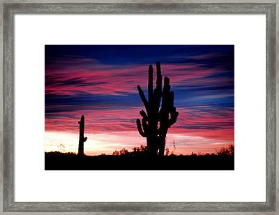 Sunrise Framed Print by John Gee
