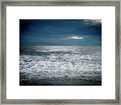Sunrise-kennebunk Beach Framed Print