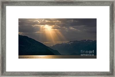 Sunrise Lake Thun, Switzerland Framed Print by Henk Meijer Photography
