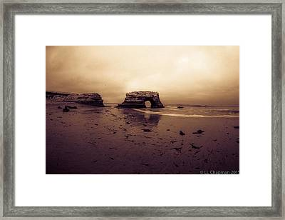 Sunrise Framed Print by Lora Lee Chapman