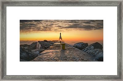 Sunrise Magic Framed Print
