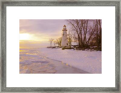 Sunrise Marblehead Framed Print by Jack R Perry