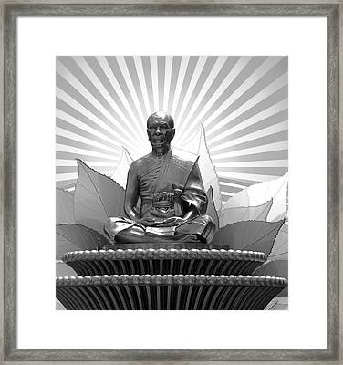 Sunrise Meditation Framed Print by Daniel Hagerman
