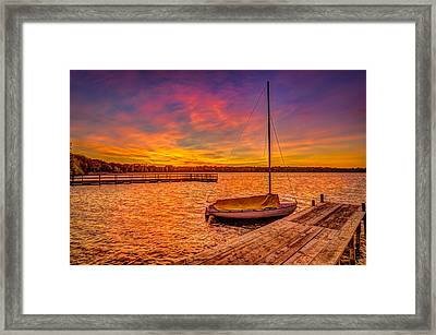 Sunrise Minneapolis Framed Print
