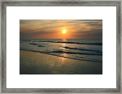 Sunrise Myrtle Beach Framed Print
