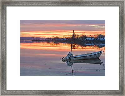 Sunrise On Christmas Day Framed Print by Angelo Marcialis