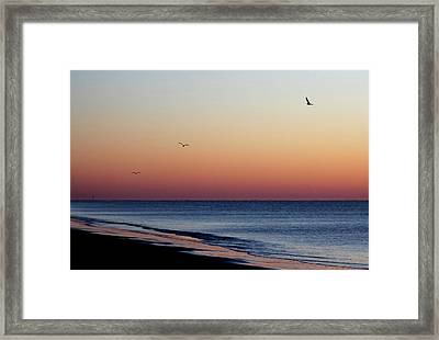 Framed Print featuring the photograph Sunrise On Hilton Head by Bruce Patrick Smith
