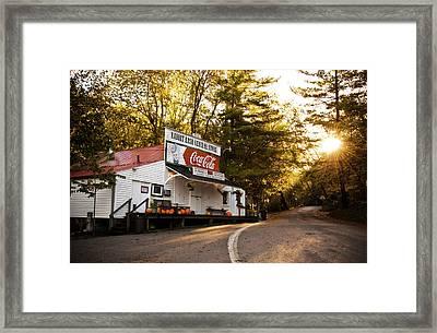 Sunrise On Rabbit Hash Framed Print by Jeanne Sheridan