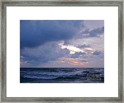 Sunrise On The Atlantic Framed Print