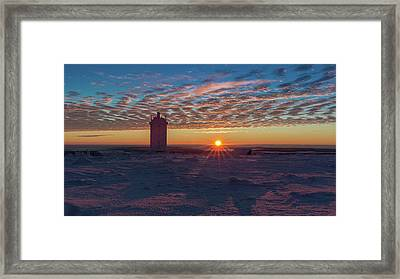 Sunrise On The Brocken, Harz Framed Print