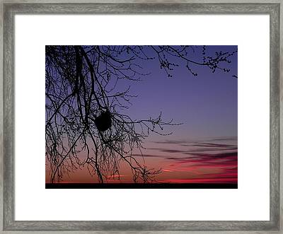 Sunrise On The Colorado Plains Framed Print