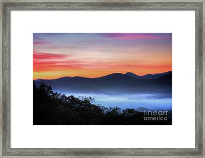 Sunrise On The Parkway Framed Print by Todd Bielby