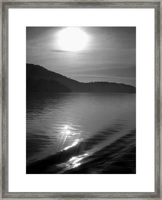 Sunrise On The San Juans Framed Print by Karla DeCamp