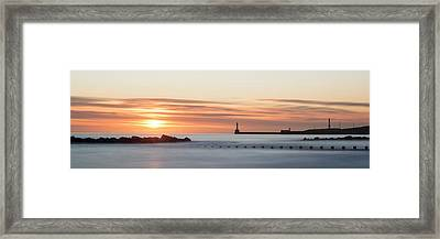Sunrise Over Aberdeen Beach Framed Print