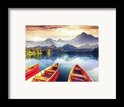Tourism Framed Prints