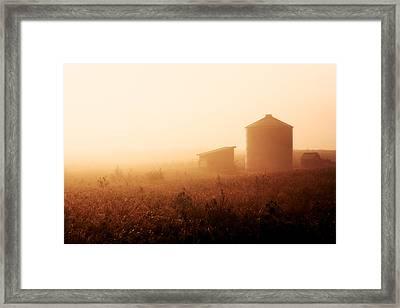 Sunrise Over Baer Bottoms Framed Print by Todd Klassy