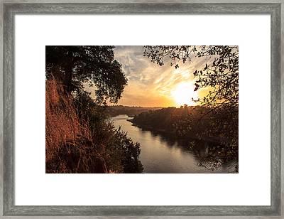 Sunrise Over Fair Oaks Framed Print by Randy Wehner Photography