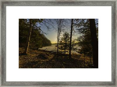 Sunrise Over Millsite Framed Print