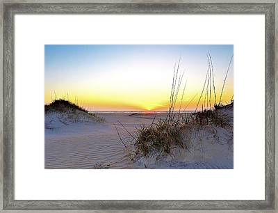 Sunrise Over Pea Island Framed Print