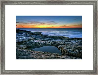 Sunrise Over Pemaquid Point Framed Print by Rick Berk