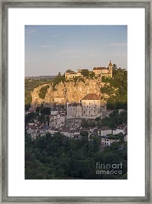 Sunrise Over Rocamadour Framed Print
