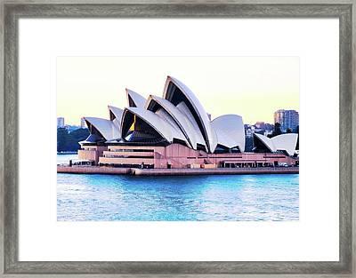 Sunrise Over Sydney Opera House Framed Print