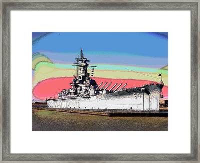 Sunrise Over The Alabama Framed Print