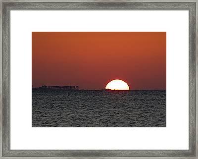 Sunrise Over The Bay 5x7 Framed Print