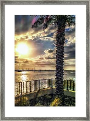 Sunrise Over The Matanzas Framed Print