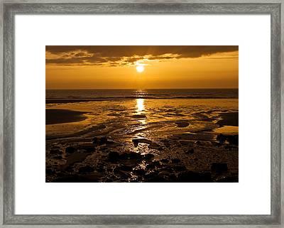 Sunrise Over The Sea Framed Print by Svetlana Sewell