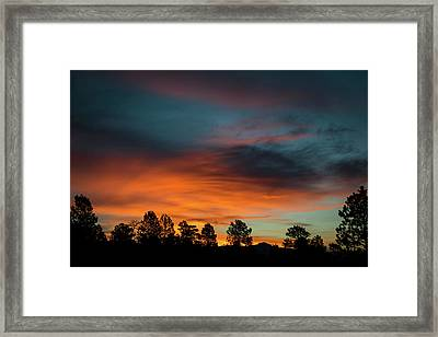 Sunrise Over The Southern San Juans Framed Print