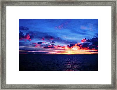 Sunrise Over Western Australia I I I Framed Print