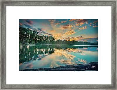 Sunrise Over Willow Bay Framed Print by Scott Reyes