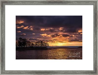 Sunrise Over Winslow Park Framed Print by Benjamin Williamson