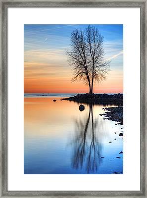Sunrise Palette Framed Print