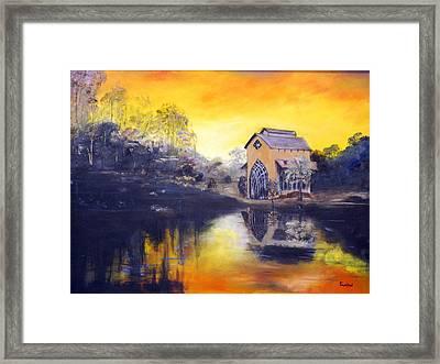Sunrise Framed Print by Phil Burton