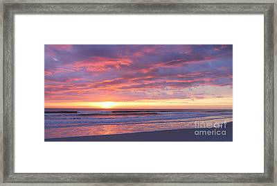 Sunrise Pinks Framed Print