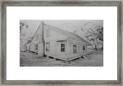 Sunrise Plantation  Framed Print