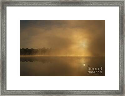 Sunrise Relections Framed Print